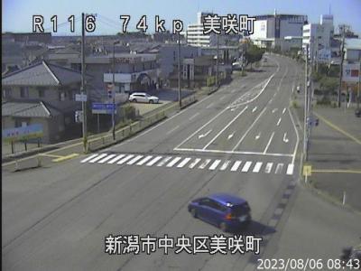 国道 ライブ カメラ 新潟